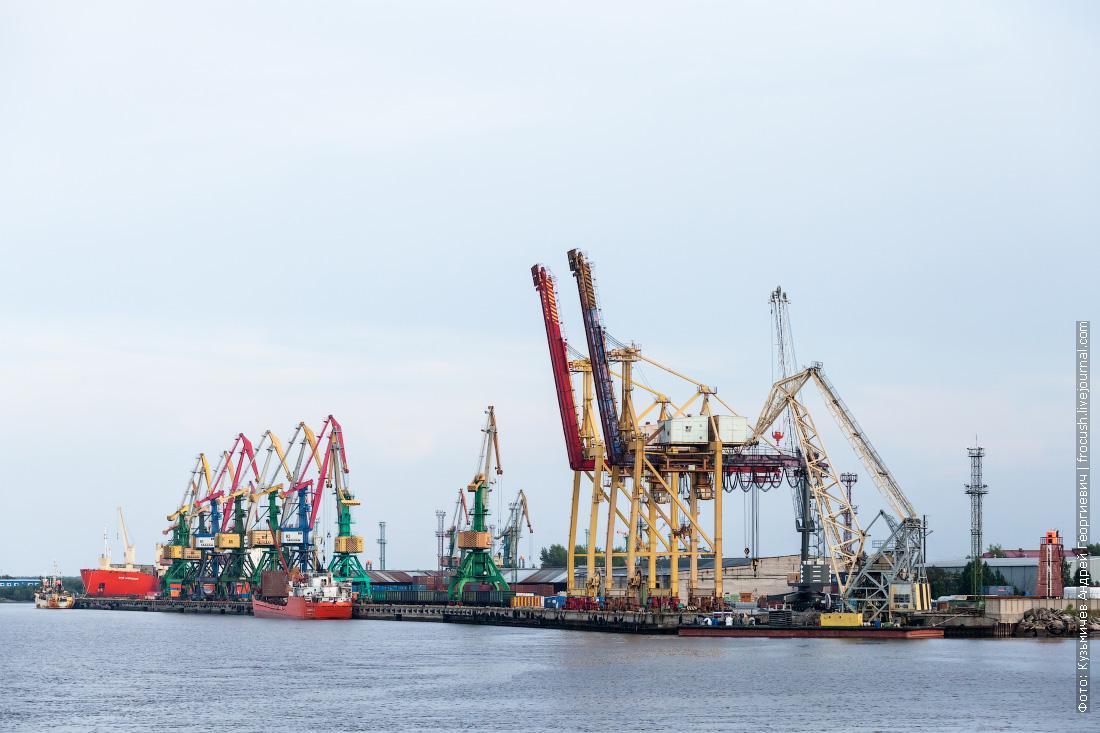 Контейнерный терминал Экономия ОАО Архангельский морской торговый порт