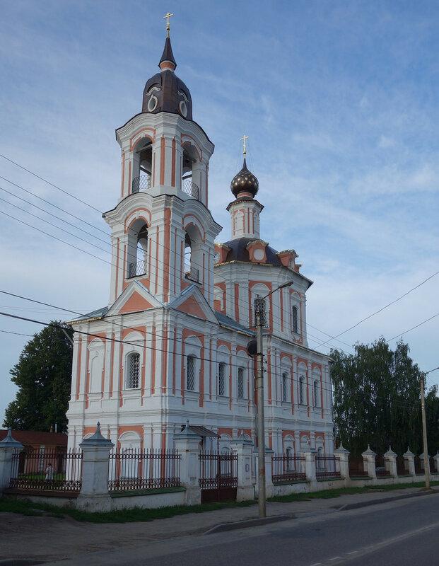 Воскресенский храм, 1787