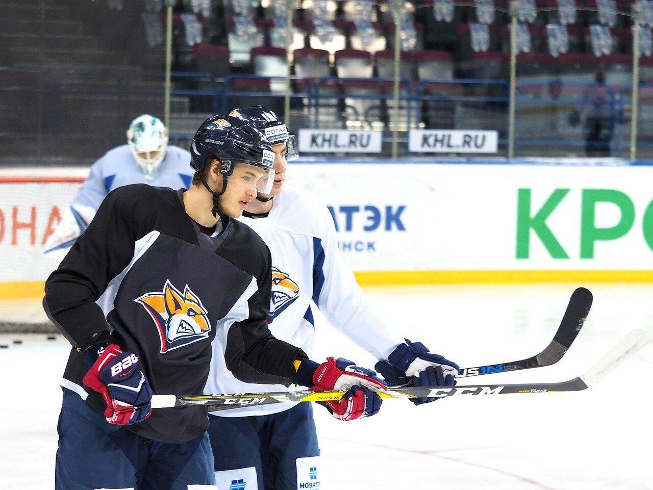 5 Открытая тренировка перед финалом плей-офф КХЛ 2017 06.04.2017