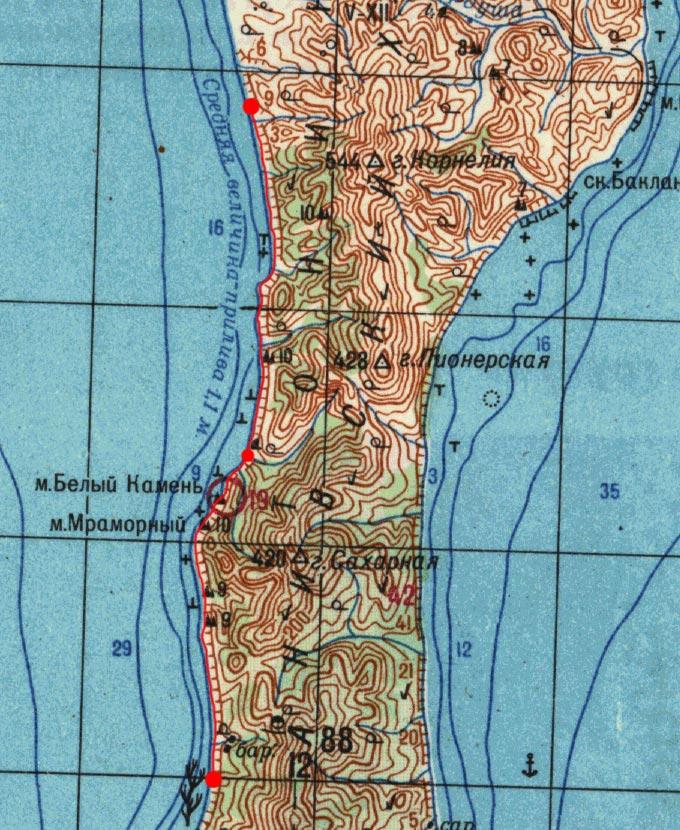 Карта маршрута 20 августа