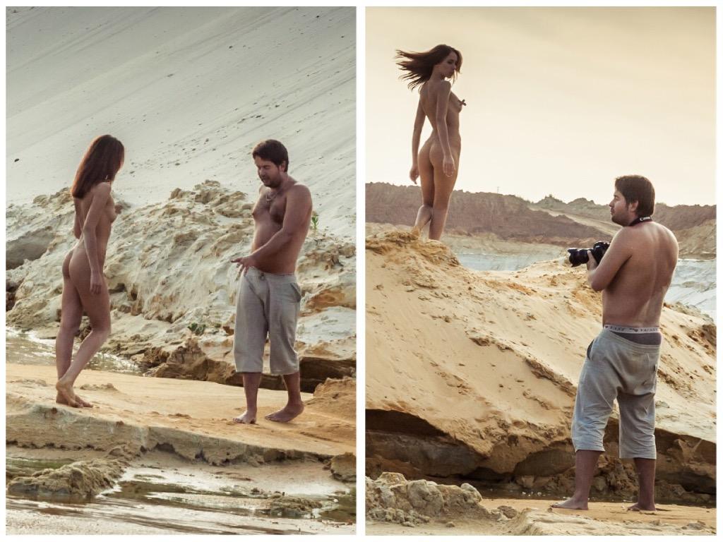 Песчаный карьер / фотограф Владимир Бероев