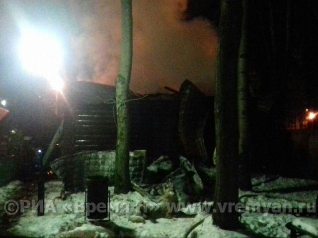 Пожар  произошел взоопарке нижегородского парка «Швейцария»