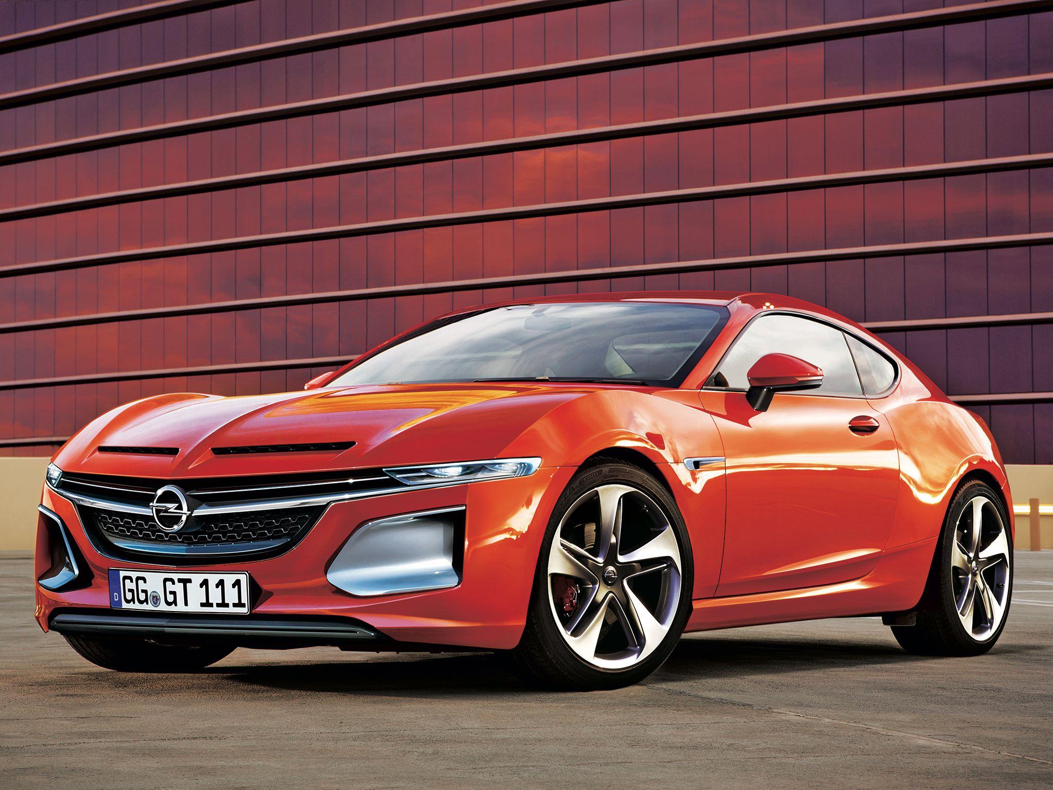 Опель  неторопится запускать всерию концептуальный автомобиль  GT