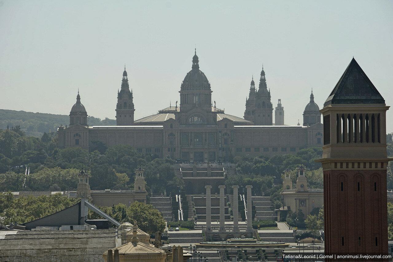 Площадь Каталонии. Барселона