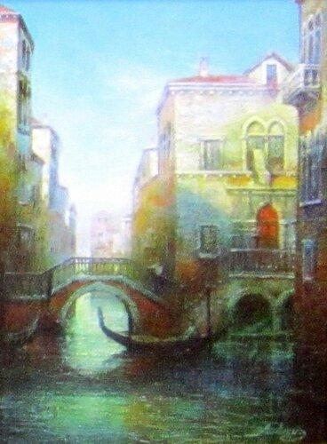 Авдеев Михаил Анатольевич ( родился в 1972 году). Прогулки по Венеции. 1