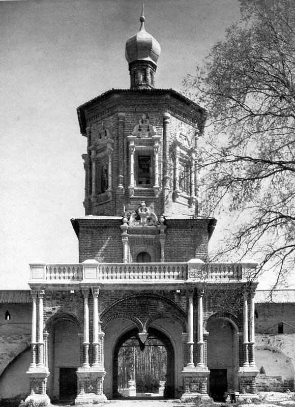 Ц. Иоанна Предтечи Солотчинского монастыря. Кон. XVII в.