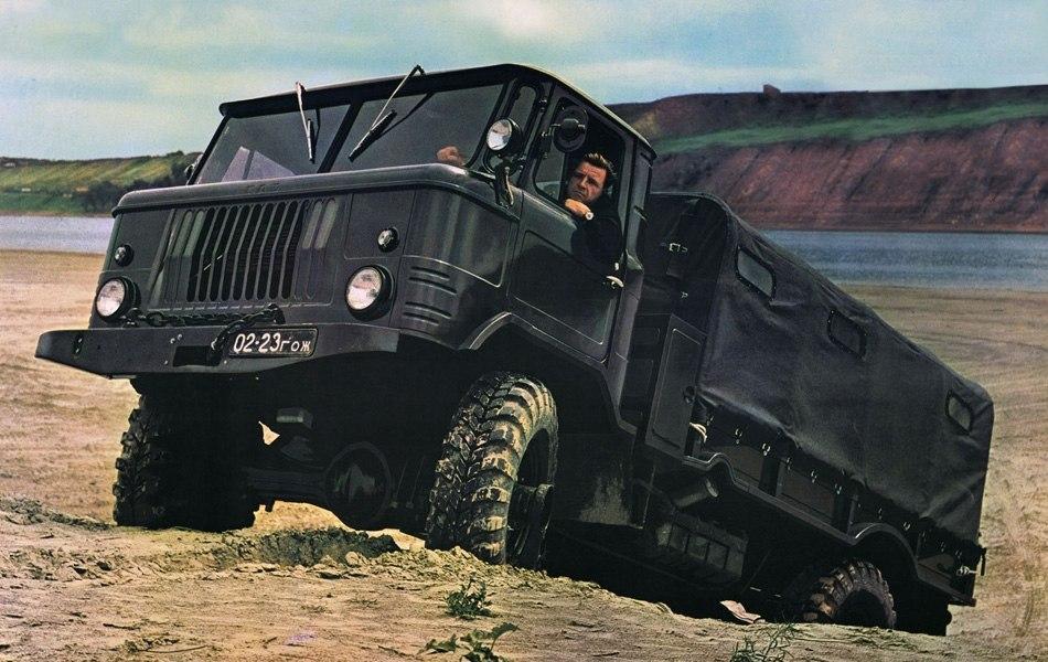 МОЖЕТ БЫТЬ ЛУЧШИЙ СОВЕТСКИЙ АВТОМОБИЛЬ. ЛЕГЕНДА СССР ГАЗ-66 (6 фото)