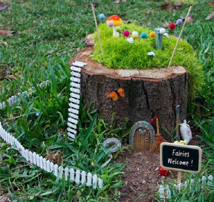2. Детская садовая клумба