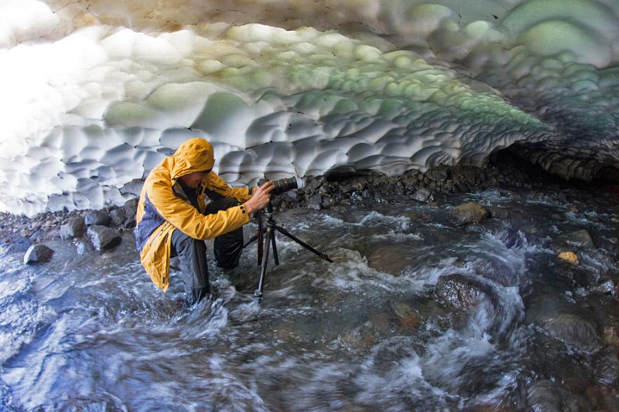 7. К сожалению, такой красивый потолок не на всем протяжении пещеры, дальше вглубь толщина свод