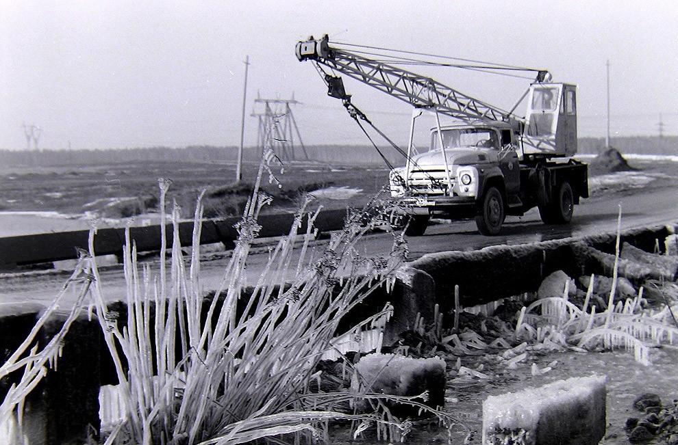 40. Боровское шоссе, весна 1980 г.