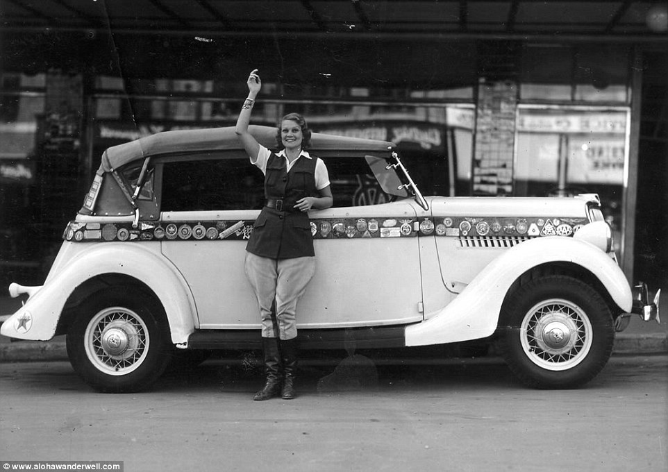 Как 16-летняя девушка в начале XX века обогнула земной шар на машине