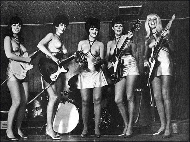 Поющая грудь: музыкальные топлес-группы второй половины XX века