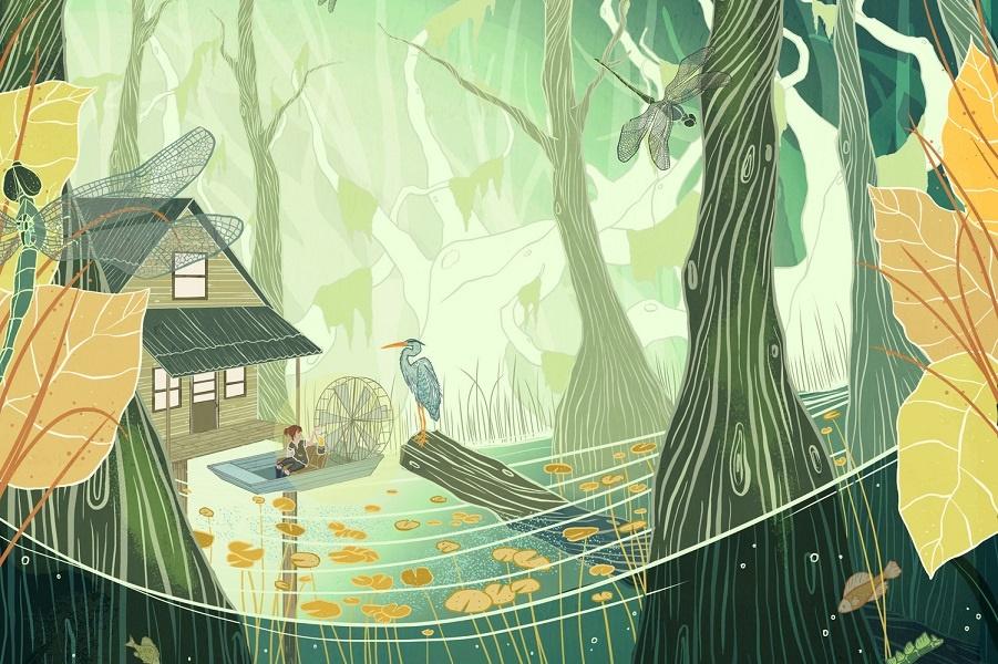 Волшебный мир. Иллюстратор Kailey Whitman