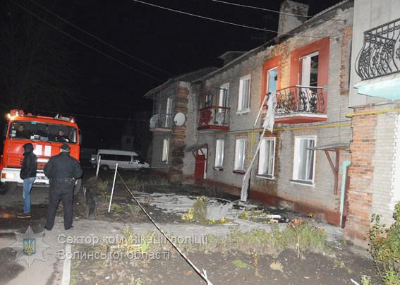 ВНововолынске вдвухэтажном доме произошел взрыв газа, пострадал человек