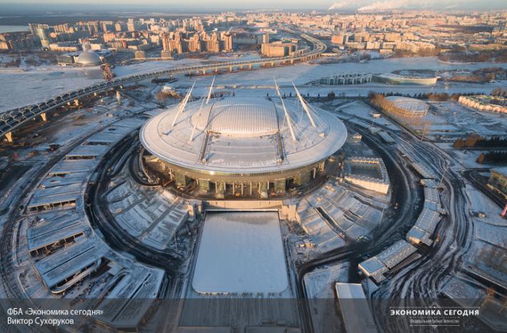 Албин пообещал к1мая закончить все работы настадионе наКрестовском