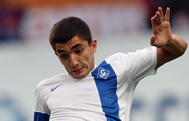 Защитник Ибрагим Цаллагов подписал договор сФК «Зенит» на3,5 года