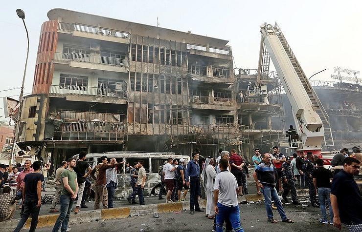 ИГвзяла ответственность за кошмарный теракт вБагдаде