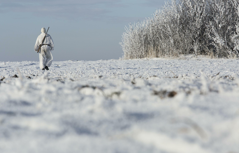 ВоФролово охотник пошел влес изаблудился впроцессе снежной бури