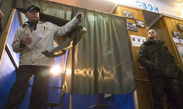 Германия снова настаивает навыборах наДонбассе без возвращения границы