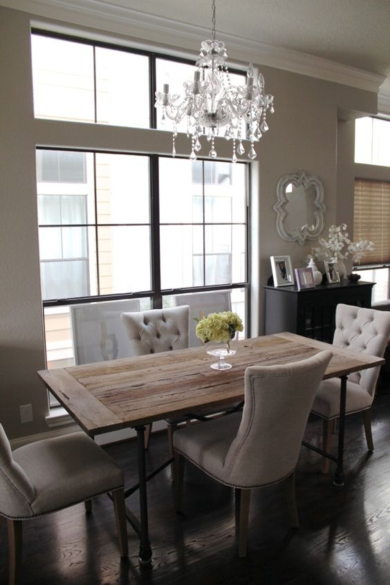 You can never go wrong with classic dining chairs A house designed in a traditional, classic way wou