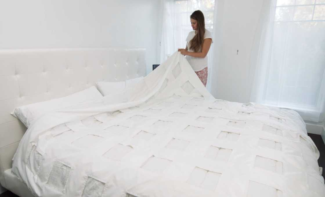 Smartduvet - A connected self-making bed