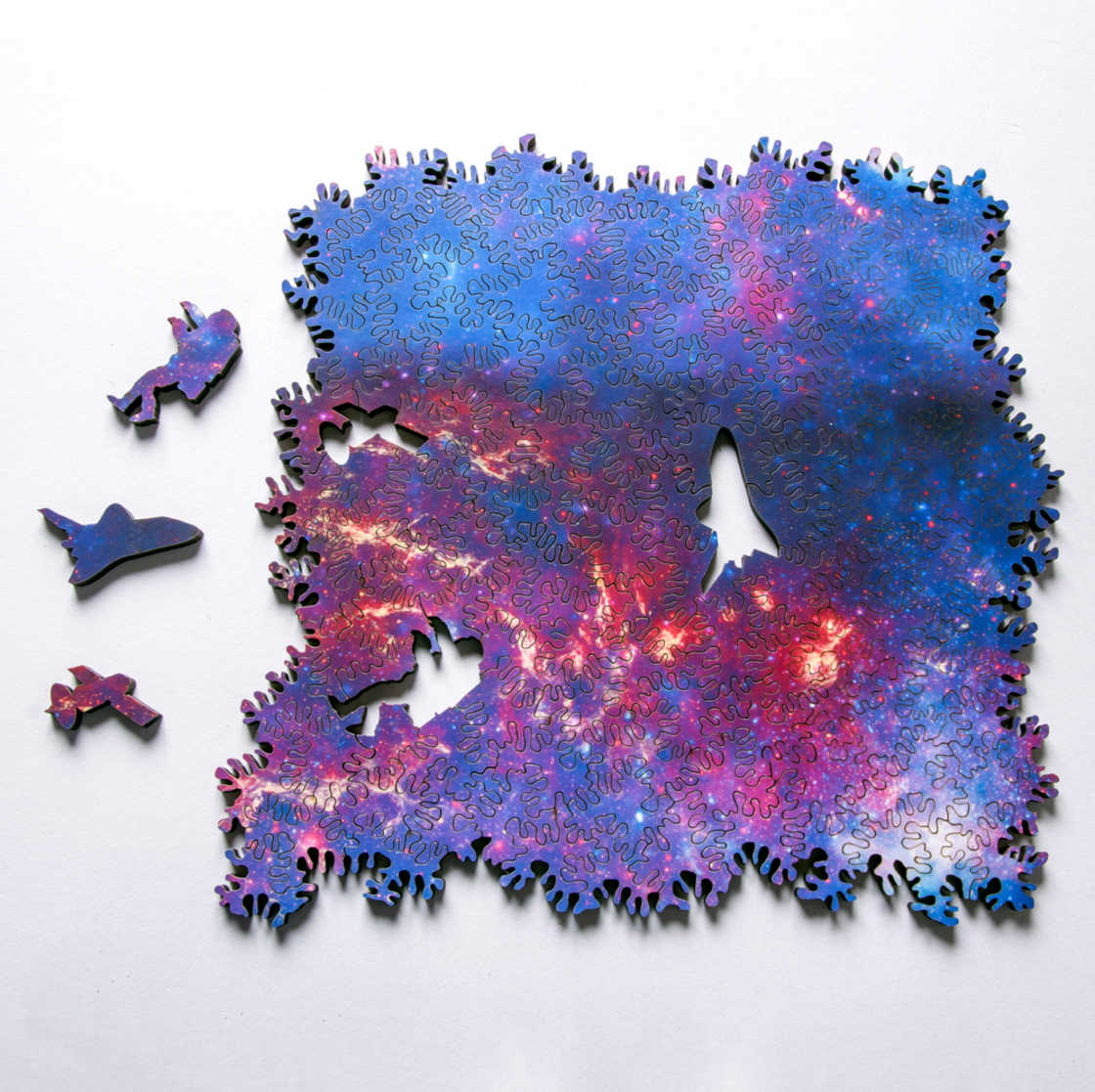 Infinite Galaxy Puzzle - An amazing spatial puzzle with no beginning or end