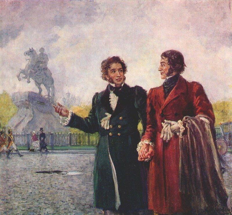 Пушкин и Мицкевич