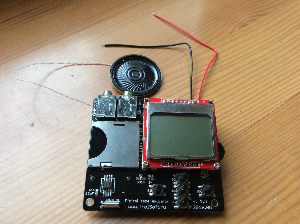 ZX-магнитофон v1.3
