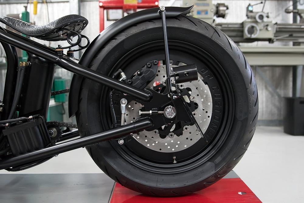 DP Customs: кастом Harley-Davidson Sportster Hardtail