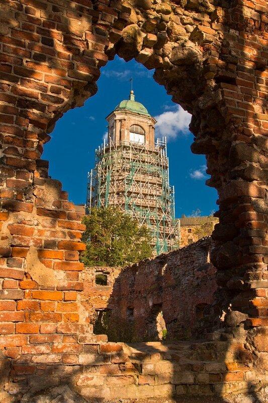 Часовая башня XV век