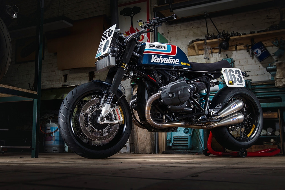 Workhorse Speedshop: супербайк BMW R nineT