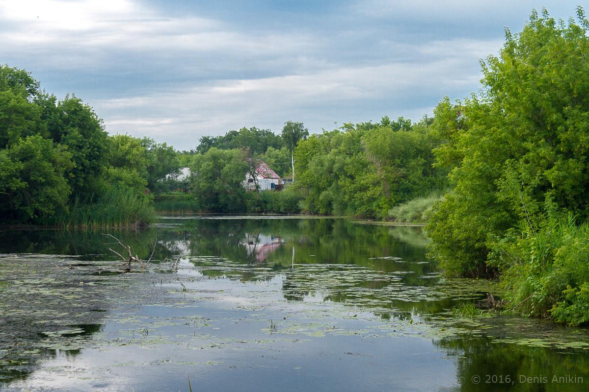 Калининск река Баланда плотина фото 4