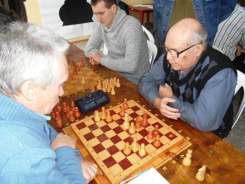Позиция ... Шахматный турнир. Выселки. Декабрь 2016