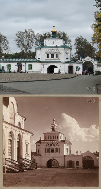 Святые врата из монастыря.
