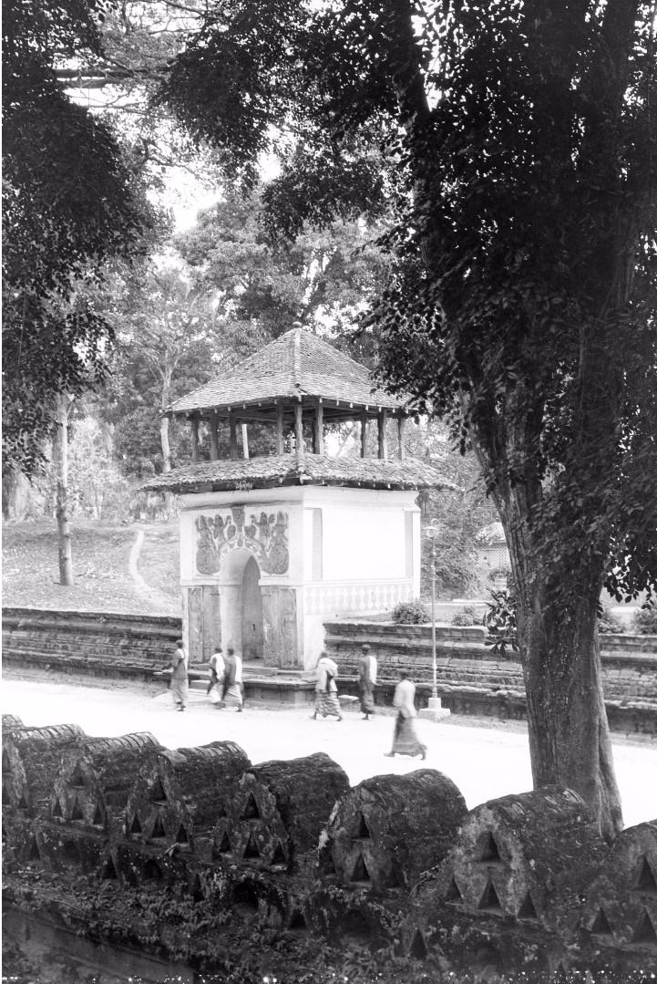 222. Возле храма Вишну в Канди