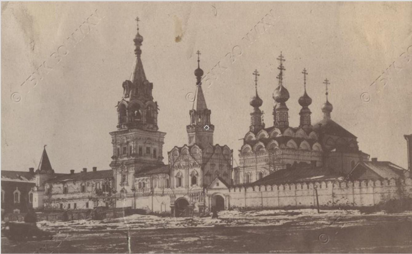 Троицкий монастырь. Вид с юга. 1896
