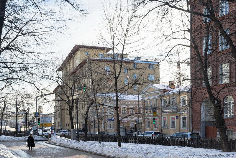 Дом полярников - Жилой дом Главсевморпути