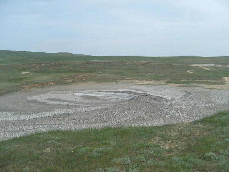грязевые вулканы, Булганакское сопочное поле