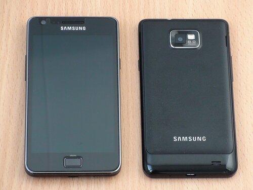 Samsung GALAXY S II. Внешний вид (2)