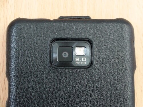 Galaxy S II с чехлом Classic baron (7)