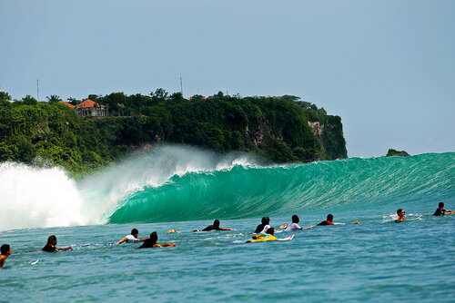 Серфинг на Бали (фотогалерея)