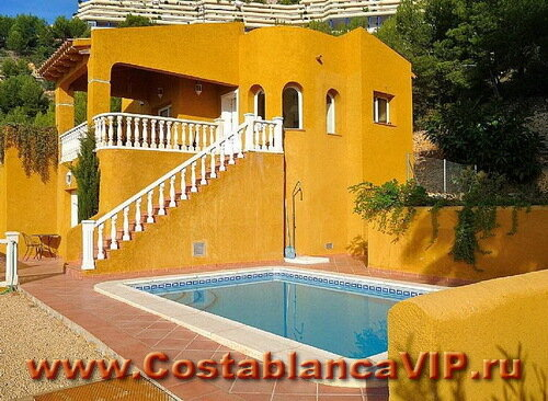 вилла в Altea Hills, вилла в Алтее, вилла в Испании, дом в Испании, недвижимость в Испании, вилла на Коста Бланка, Коста Бланка, CostablancaVIP