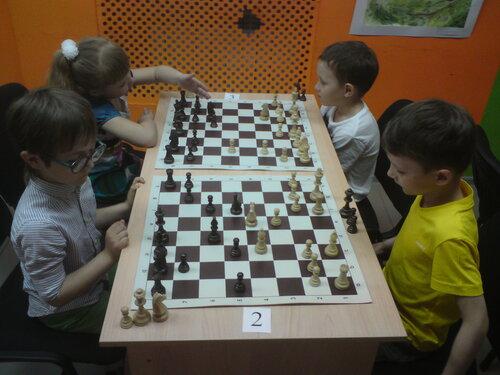 шахматы круговой турнир