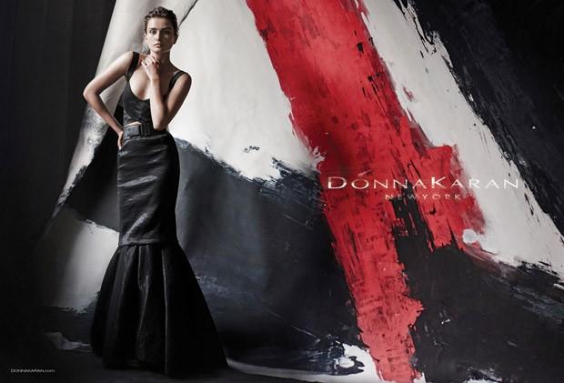 Андреа Дьякони (Andreea Diaconu) в рекламной фотосессии для Donna Karan (8 фото)