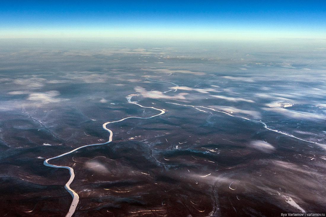 А это, кажется, река Лена