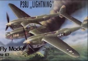 "Журнал Fly Model 067 - P38J \""Lightning\"""