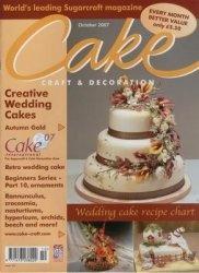 Журнал Cake Craft & Decoration №107 - October 2007