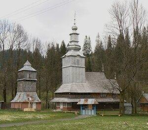 Николаевская церковь в с.Изки, начало XVIII в. Фото nativeborncitizen.blogspot.com