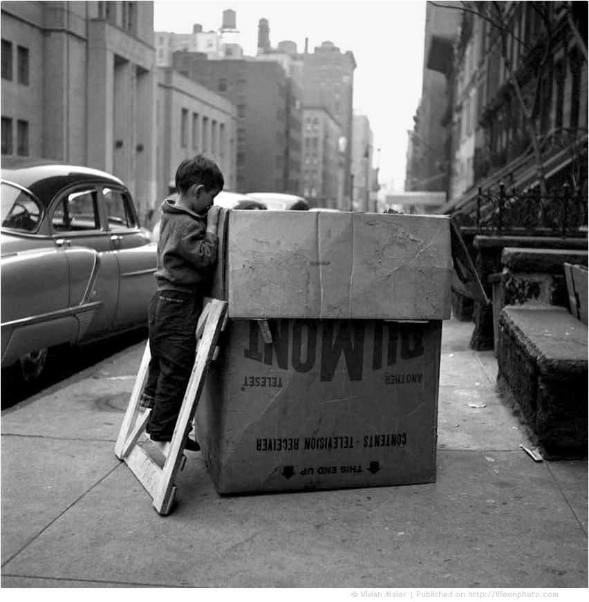 Жители Нью-Йорка в объективе фотографа Vivian Maier
