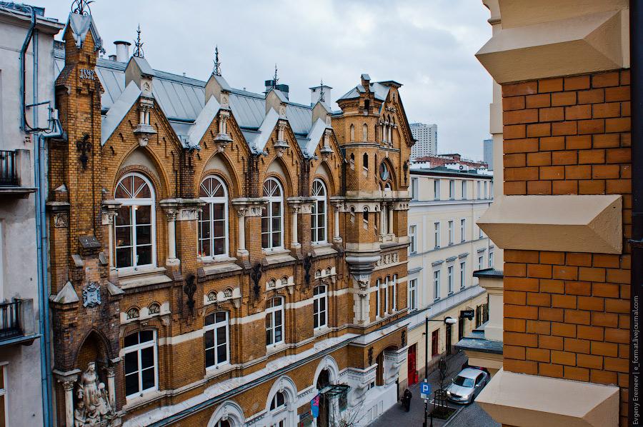 Прогулки по Варшаве